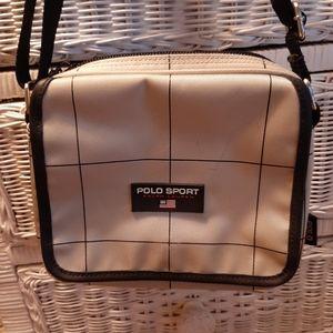 Vintage polo sport crossbody bag